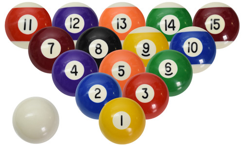 Sterling Classic Pool and Billiard Ball Set  sc 1 st  CueSight.com & Miniature Pool and Billiard Balls Set by Sterling - 1-1/2u201d - with ...