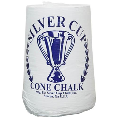 Silver Cup Cone Chalk (One Cone)
