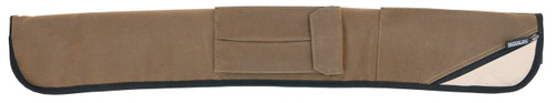 Sterling Brown Angora Pool Cue Case for 2 Cues