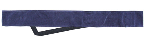 Sterling Blue Velvet Cue Case with Shoulder Strap