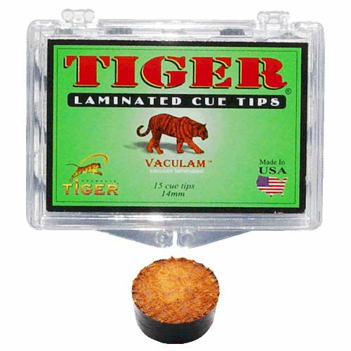 Tiger Laminated Tip, Medium, 14mm