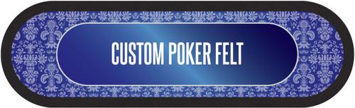 """Custom Poker Table Felt 96"""""""