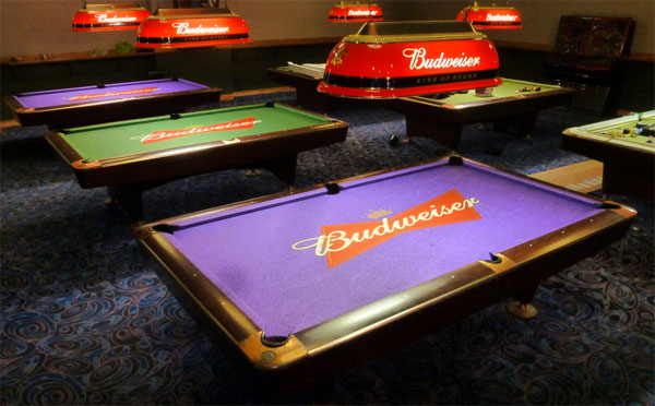 Custom Pool Table Felt Designs | CueSight.com