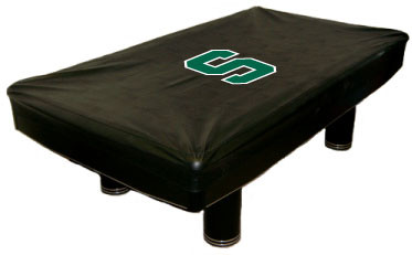 Michigan State Spartans 9 Foot Custom Pool Table Cover