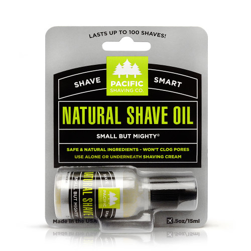 Pacific Natural Shaving Oil 1/2 oz