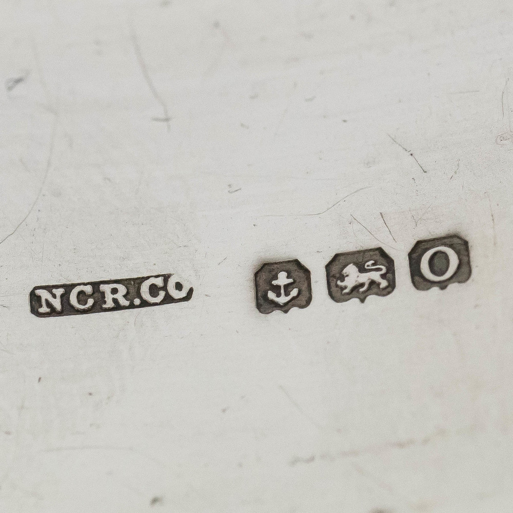 English Hallmarks, Silver Bangle Bracelet