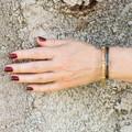Antique: 15 ct Gold Snake Link Bracelet