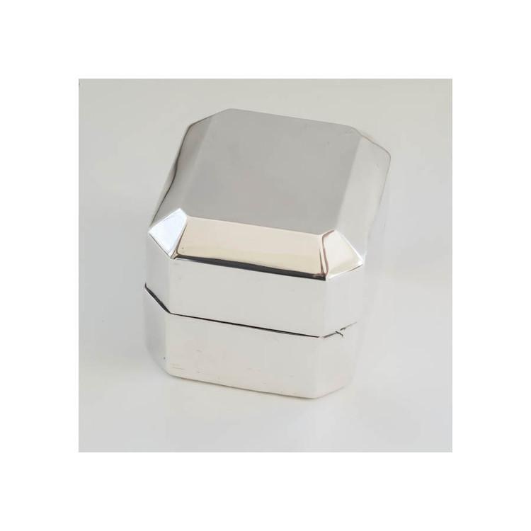 Birks Vintage Silver Ring Box