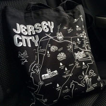 The Jersey City Maptote by Taproot Organics