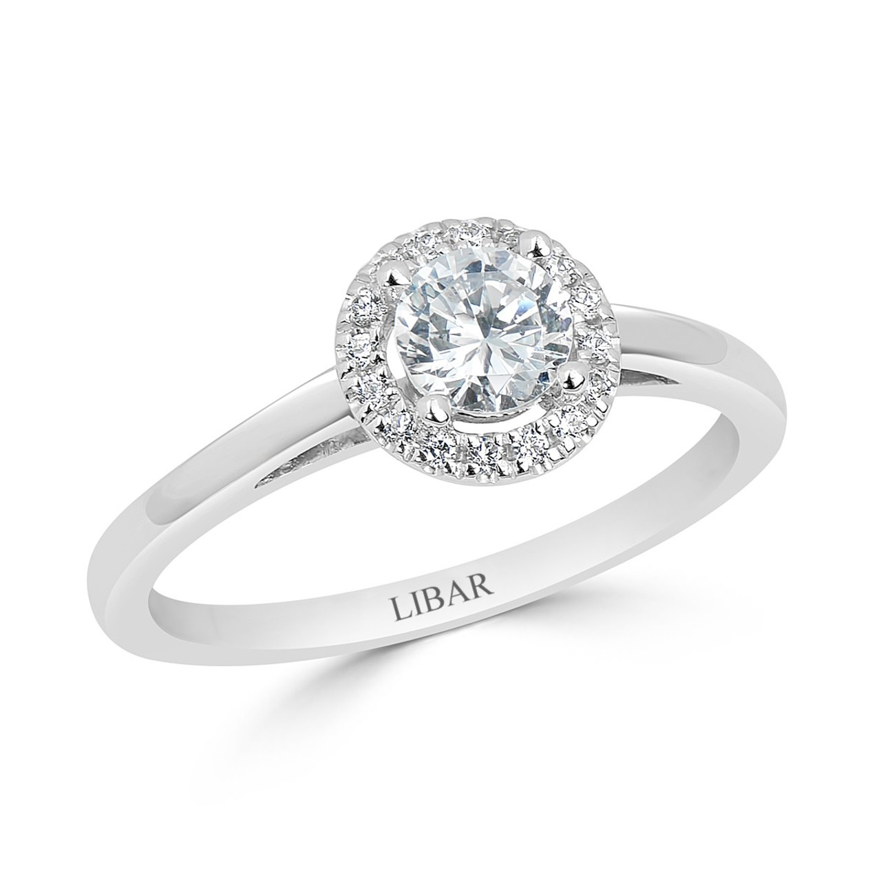 single rings halo birks engagement ring angle en round diamond with