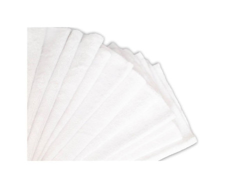 "16""x16"" 20 Pack Ultra Shine Edgeless Microfiber Towels White"