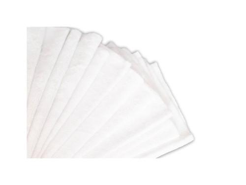 "16""x16"" 20 Pack Ultra Shine Edgeless Microfiber Towels White"