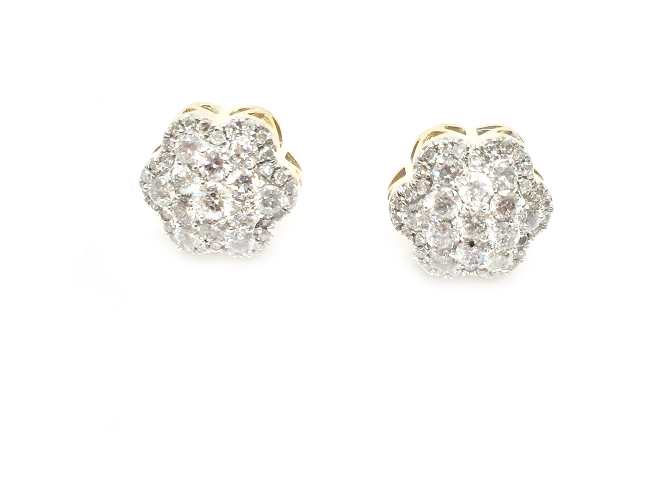 earrings easy round diamond with gold ways to backs attachment ct certified groupon facilitate screw igi stud five white profile