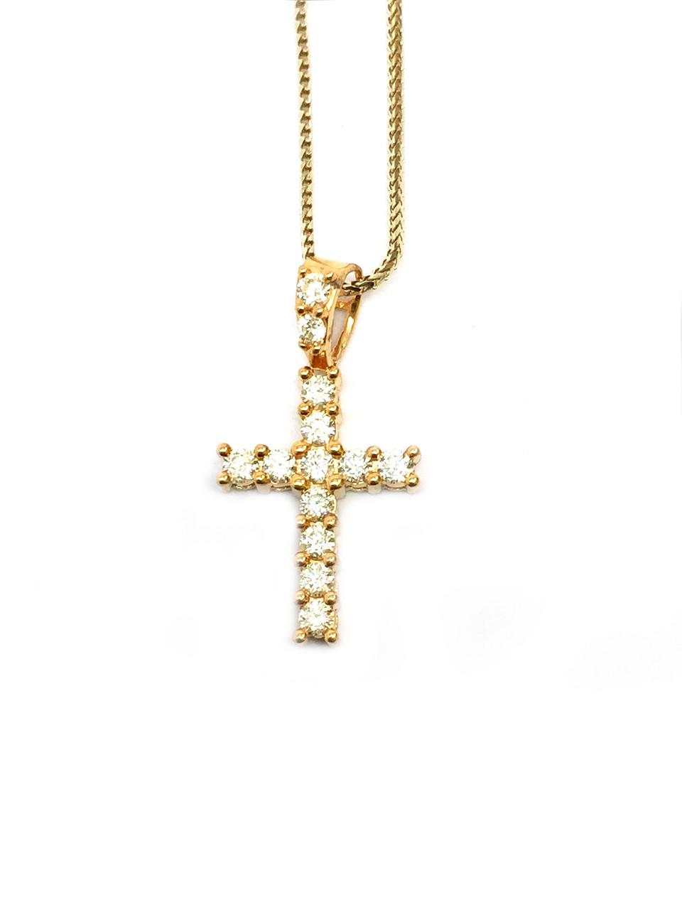 10k gold 050ct diamond cross pendant king johnny johnnys 10k gold 050ct diamond cross pendant aloadofball Choice Image