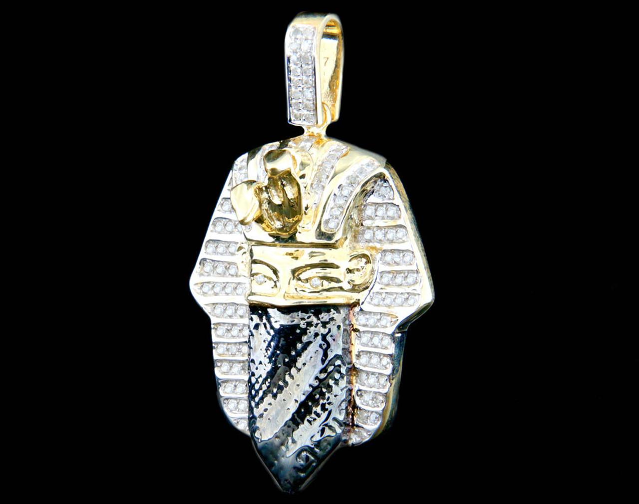 10k gold 055ct diamond king tut goon mask pendant king johnny 10k gold 055ct diamond king tut goon mask pendant aloadofball Gallery