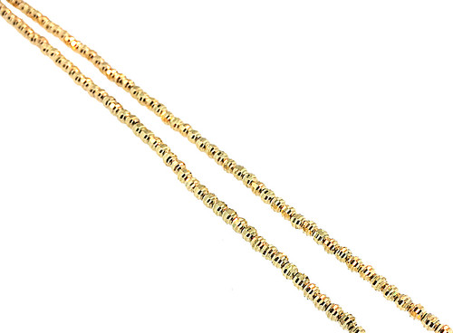 10K Gold Diamond Cut Chain