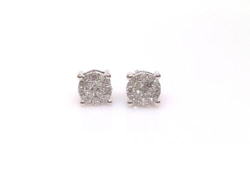 10K Gold 0.50CT Diamond Earrings