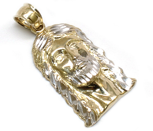 10k gold jesus piece with diamond cuts js065 king johnny 10k gold jesus piece with diamond cuts js065 king johnny johnnys custom jewelry aloadofball Images