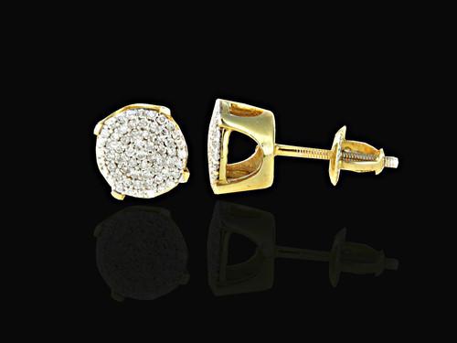 925 Silver 0.33CT Diamonds Earrings