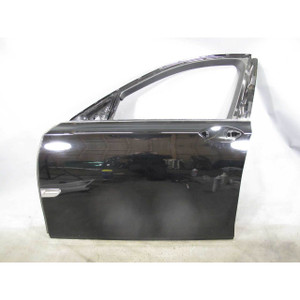 2009-2015 BMW F01 F02 7-Series Left Front Drivers Exterior Door Shell Black 2 OE