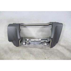 2009-2015 BMW F01 F02 7-Series Front Lower Dashboard Center Console Trim Black