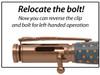 PKCP8030 30 Caliber Bolt Action Black Enamel Bullet Cartridge Pen Kit