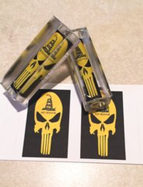 Don't Tread on Me Yellow Skull pen Blank