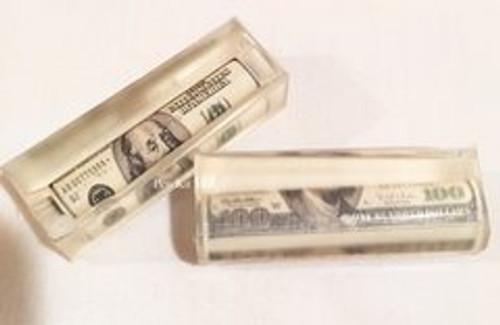 $100 Bill Pre Tubed Pen Blank