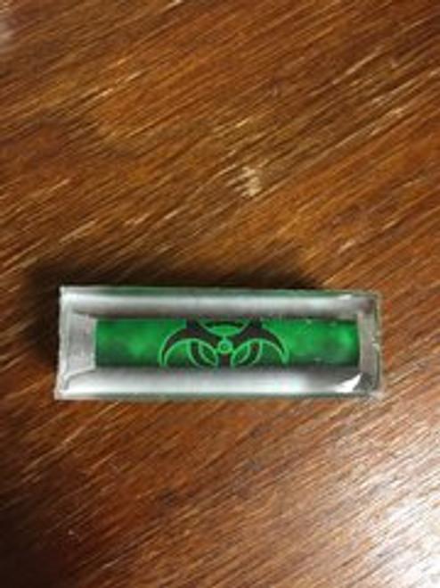 Zombie Bio Hazard Green Pen Blank