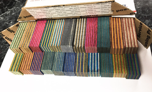 22 PC ASSORTED SPECTRAPLY PEN BLANKS