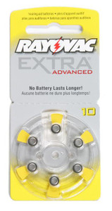 Size 10 Hearing Aid Battery Dial Pack