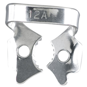 Rubber Dam Clamp #12A Lower Molars
