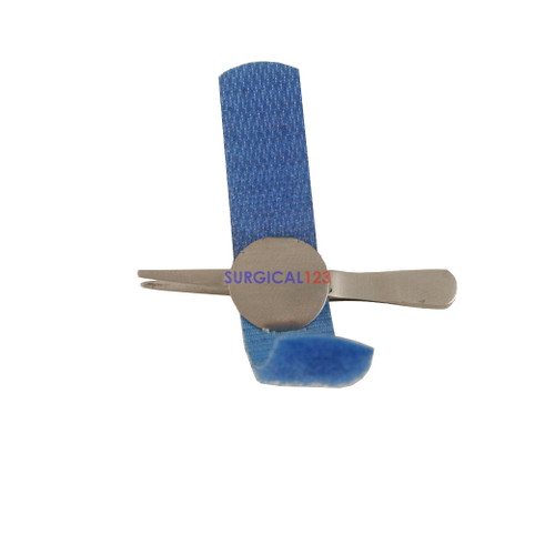 Watchmaker Jeweler Forceps Straight with Velcro Band