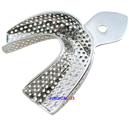 Impression Trays Perforated, Lower