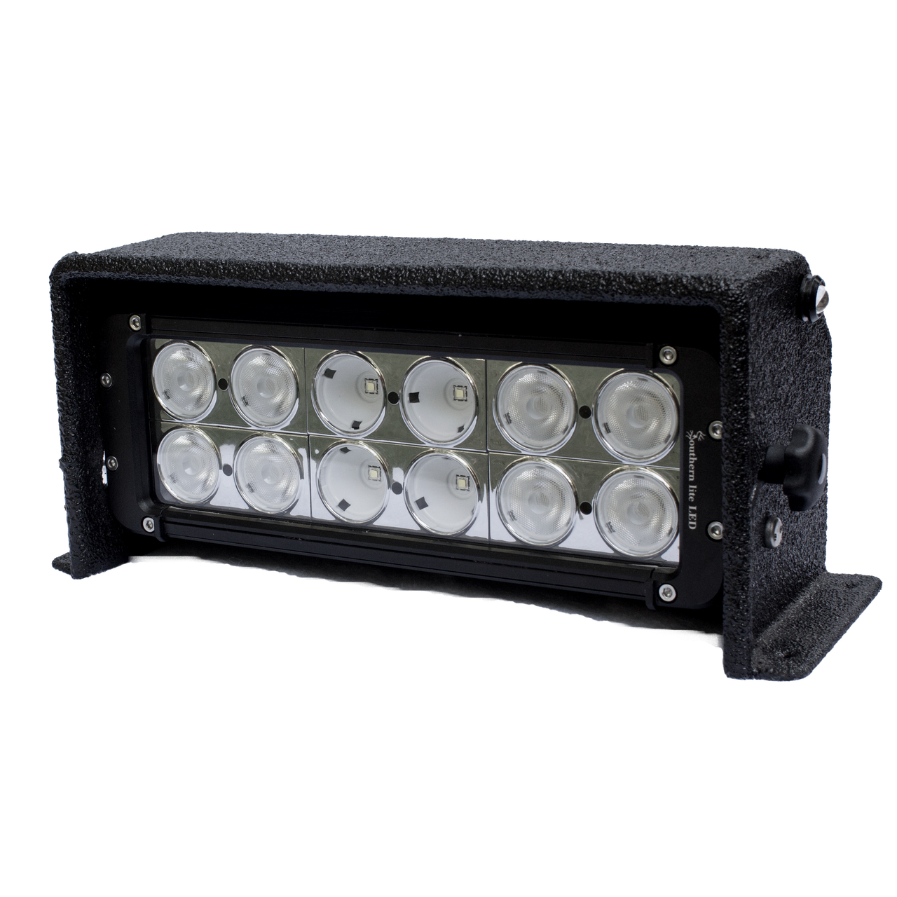 Includes Standard black housing, GEN2 dual row light bar, and mounting hardware