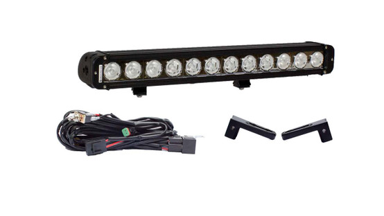 "Ford F250/F350 21"" LED light bar Hidden Bumper Mount Package"