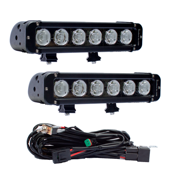 Snake Racing Led Light Bars New led cree 10 watt single row off road by southern lite led includes two 11 southern lite led light bar 60 watts over 6000 audiocablefo