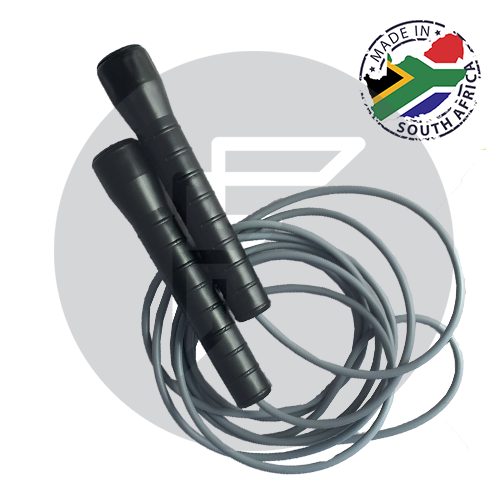 Skipping rope with plastic handle & PVC Rope