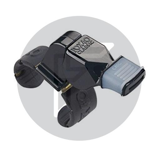 Fox 40 Finger Grip Whistles Black