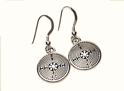 Labyrinth Dangle Earrings