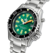 PHOIBOS OCEAN MASTER PY005A 1000M Automatic Diver Watch Green