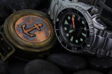 PHOIBOS OCEAN MASTER PY005C 1000M Automatic Diver Watch Black