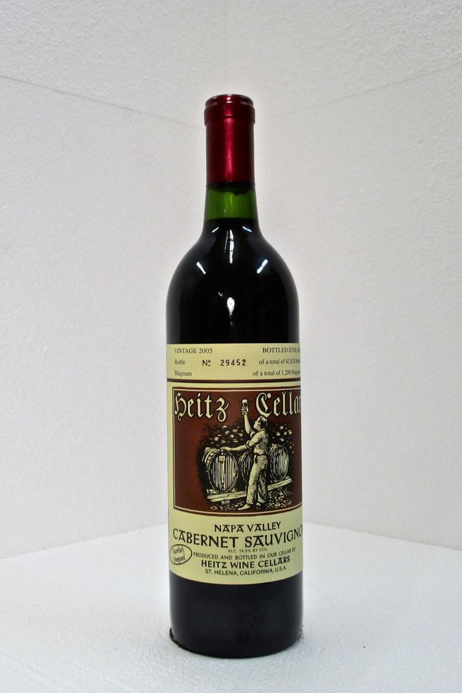 Heitz Cellar Cabernet Sauvignon Martha's Vineyard 2005 750ml