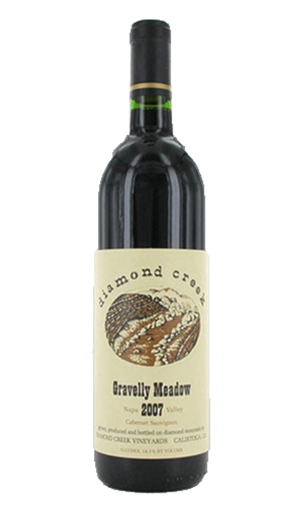 Diamond Creek Gravelly Meadow Cabernet Sauvignon 1989 750ml