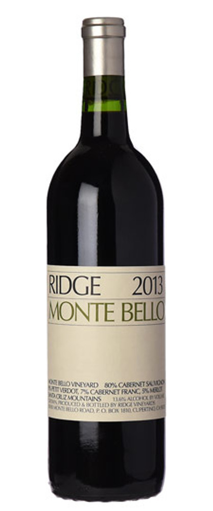 Ridge Monte Bello 2013 3000ml
