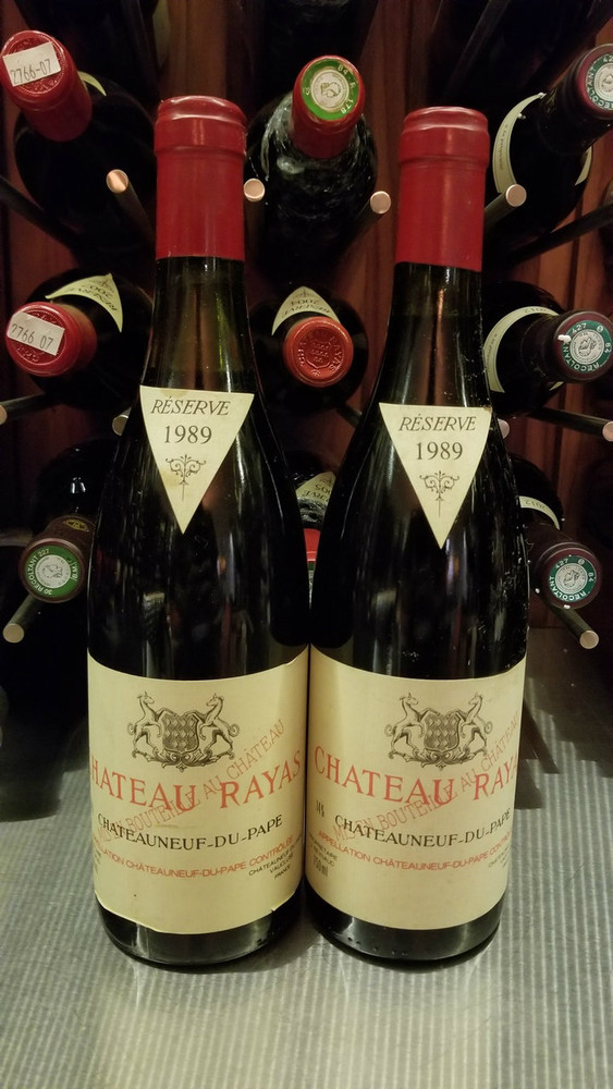 Chateau Rayas Chateauneuf du Pape Reserve 1989 750ml