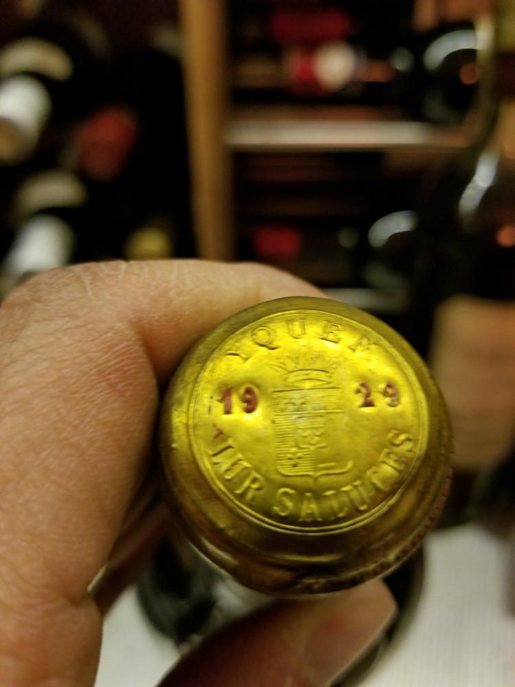 d'Yquem 1929 750ml