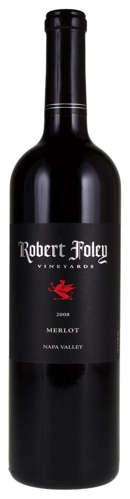 Robert Foley Merlot Napa Valley 2008 750ml