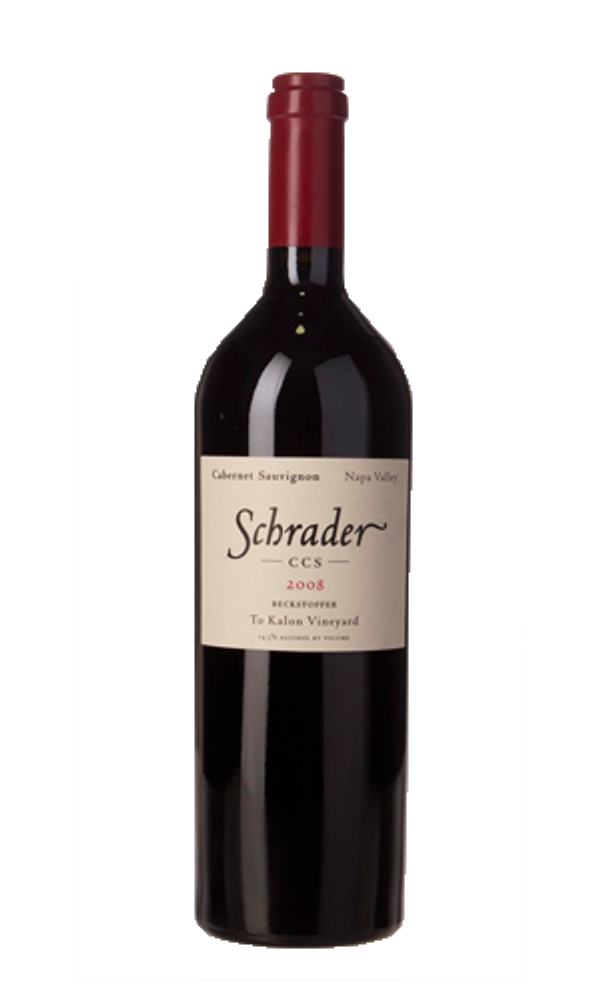 Schrader CCS Beckstoffer To-Kalon Vineyard 2015 750ml