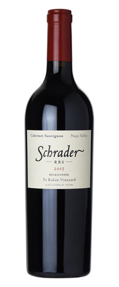 Schrader RBS Beckstoffer To-Kalon Vineyard 2015 750ml